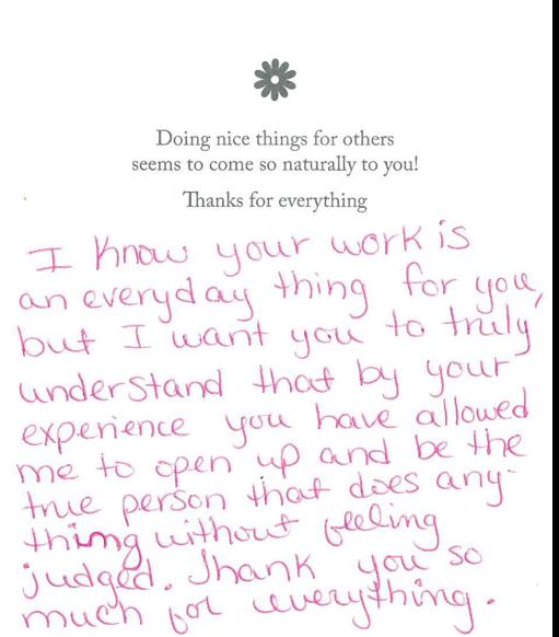 dr kulbersh thank you1 Testimonials