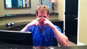Dr. Kulbersh explaining botox and dermal fillers in charlotte, nc