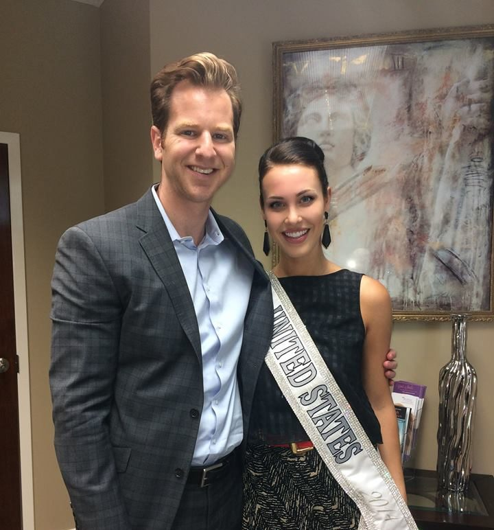 Dr. Kulbersh and Miss United States 2014