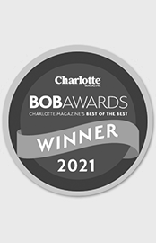 Charlotte Magazine logo for the Best of the Best award won by Dr. Kulbersh's plastic surgery clinic.